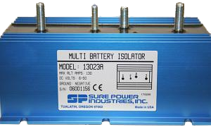 The BATTERY ISOLATOR